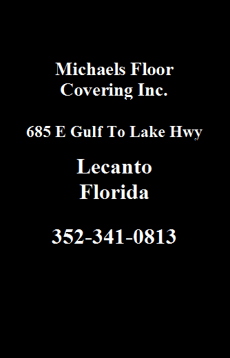 Michaels Floor Covering Ad