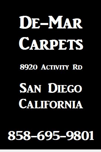 De Mar Carpets Ad