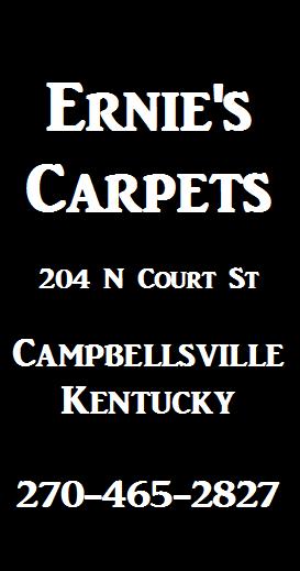 Ernies Carpets Ad