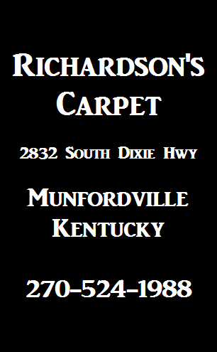 Richardsons Carpet Ad