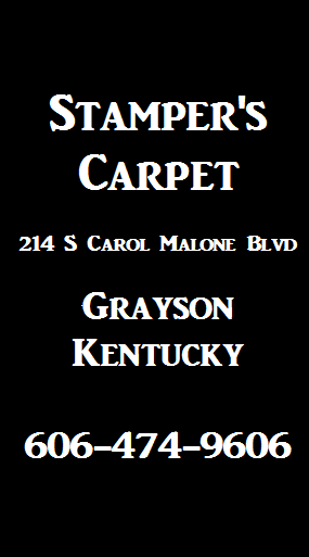 Stampers Carpet Grayson KY Ad