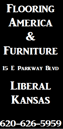Flooring America Liberal KS ad
